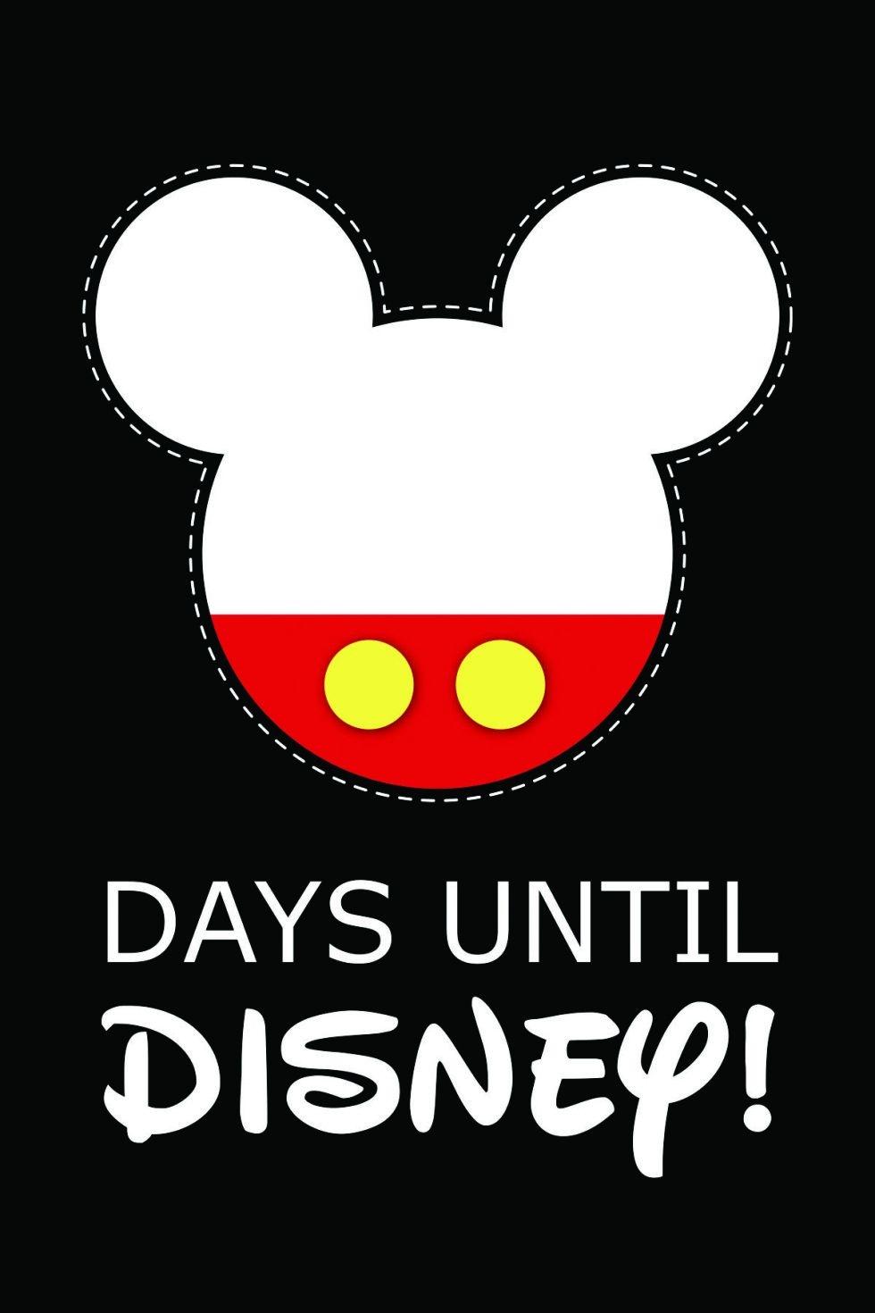 10 Fun Printable Disney Countdown Calendars   Kittybabylove