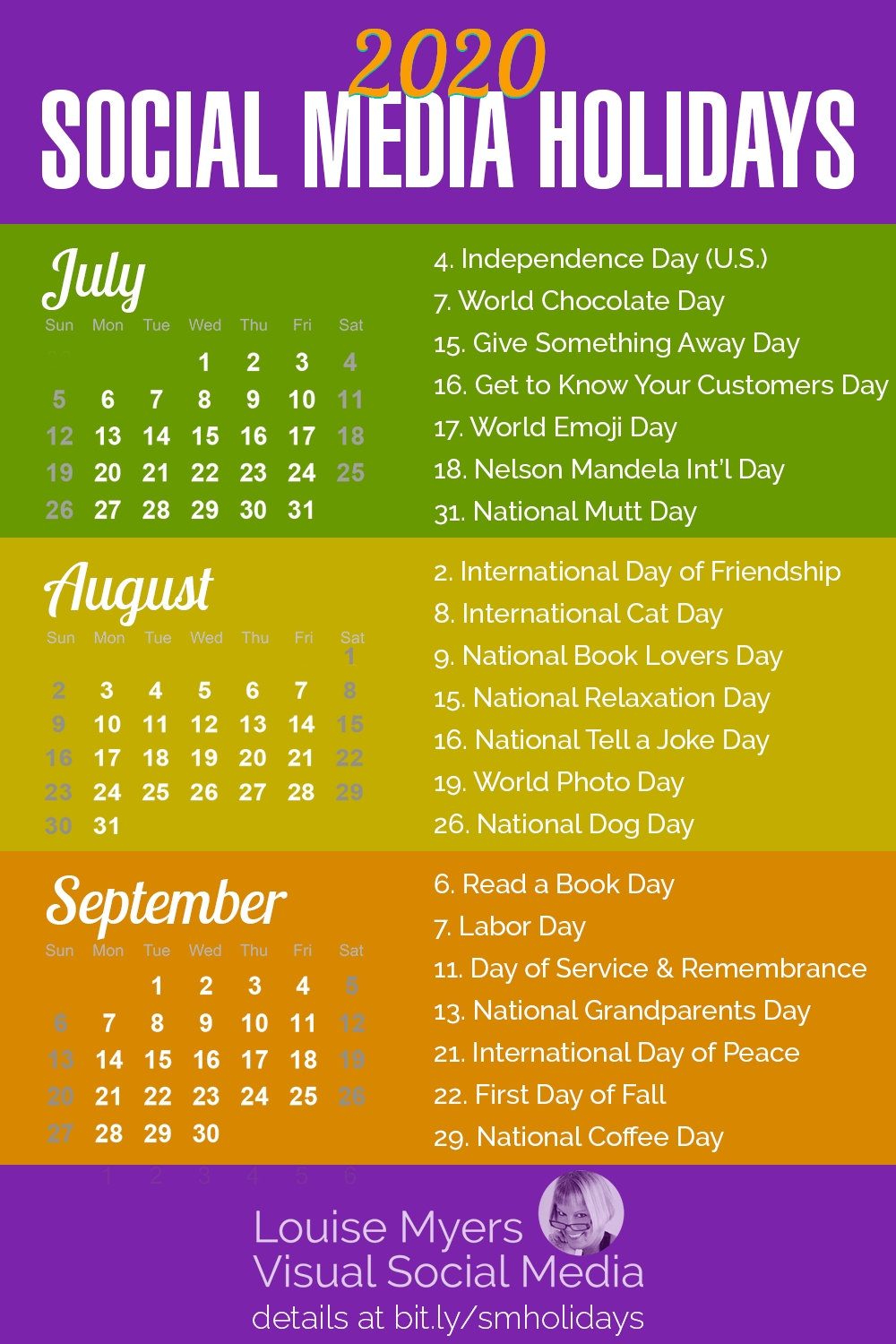 100 Social Media Holidays You Need In 2020 21: Indispensable!