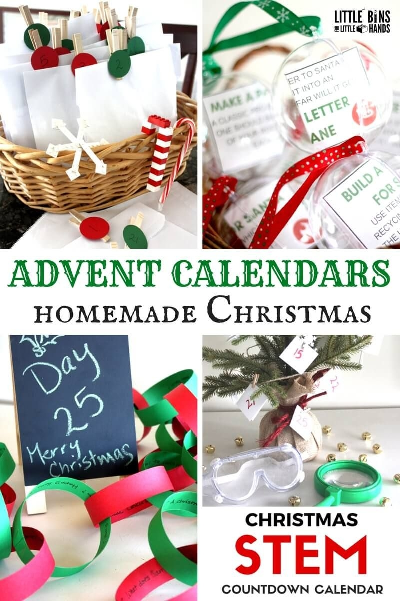 14 Advent Calendar Ideas For Busy Families | Little Bins For
