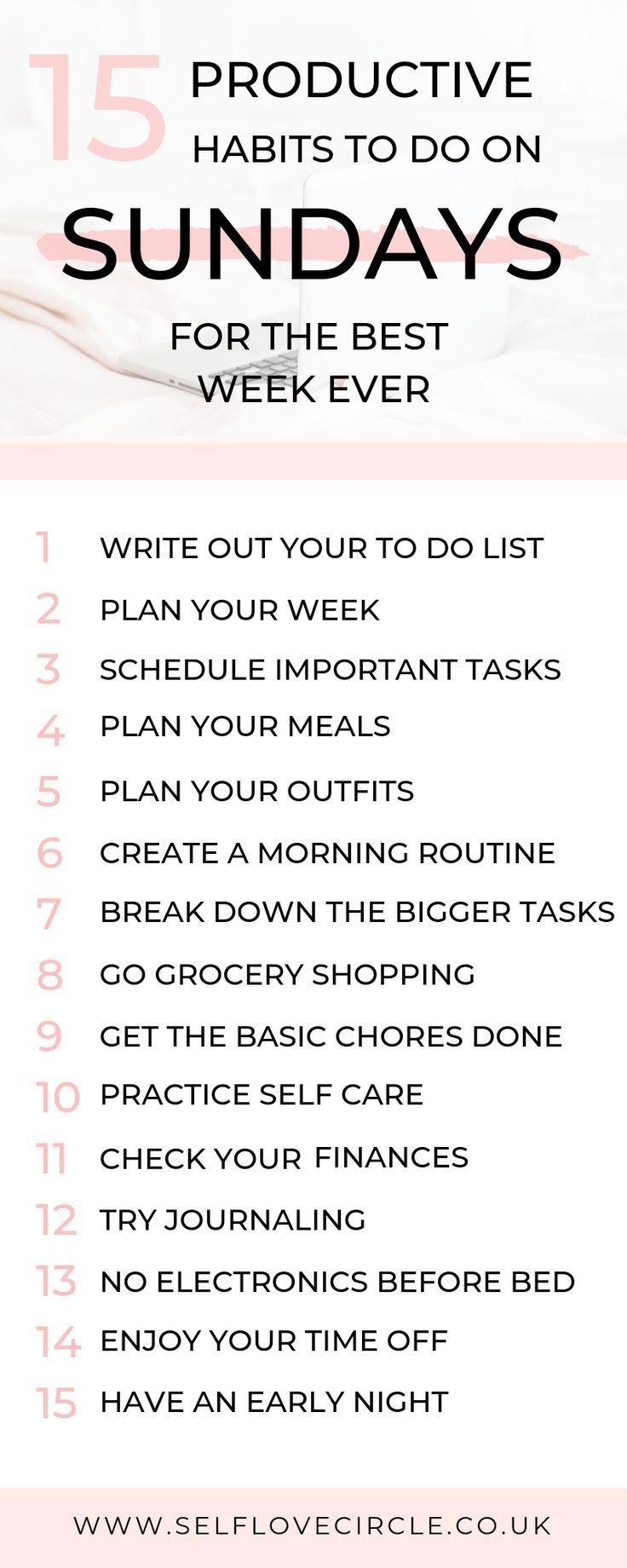 15 Productive Things To Do On Sunday Spend A Little Time At