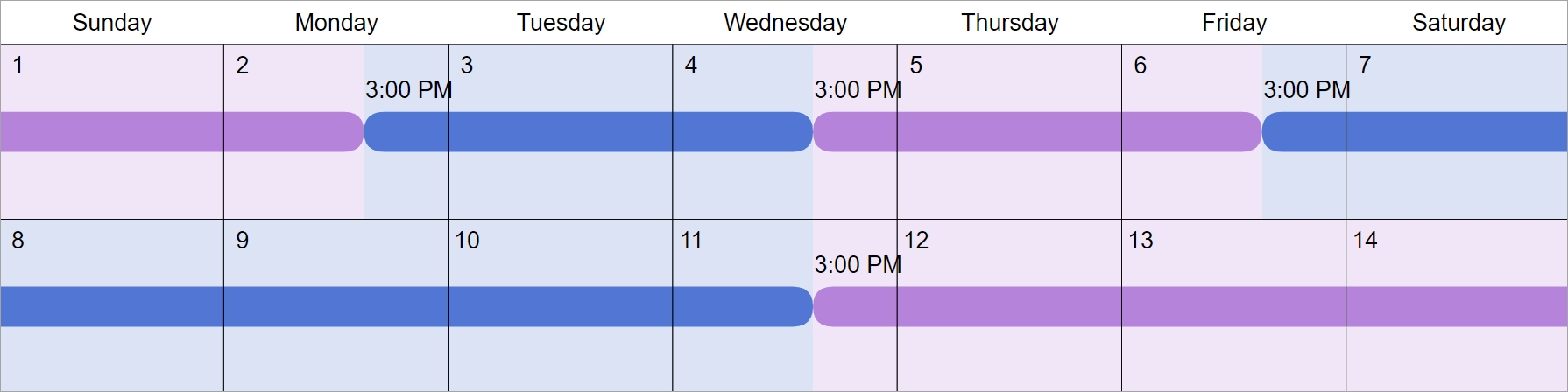 2 2 5 5 visitation schedule examples: how does it work?