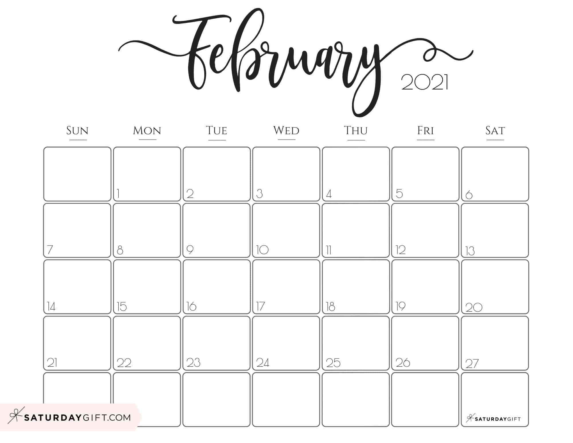 2021 Zambian Calendar - Example Calendar Printable