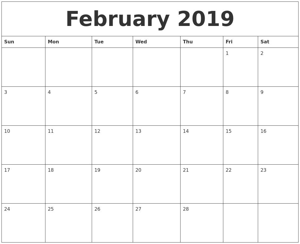 2018 October Calendar Canada Excel