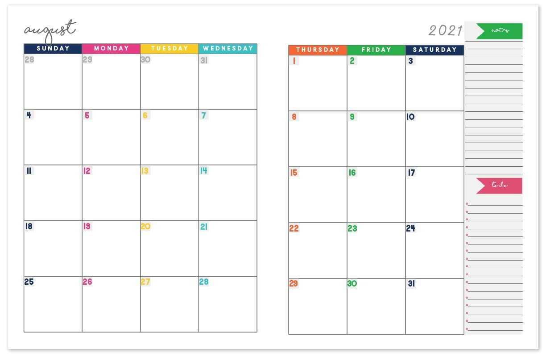 2020 2021 Monthly Calendar Planner   Free Printable Calendar