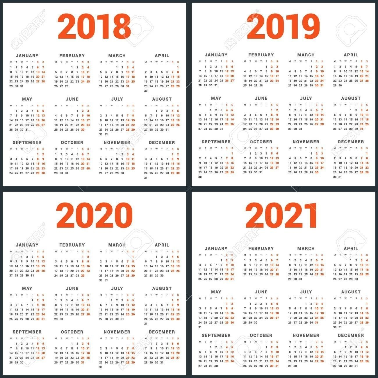2020 8 X 10 Calendars In 2020 | National Holiday Calendar