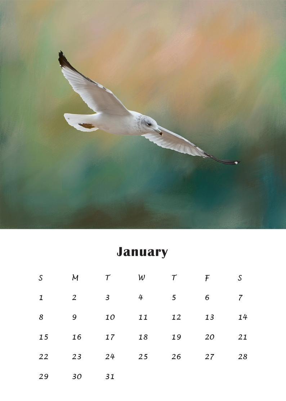 2020 calendar templates 4x6