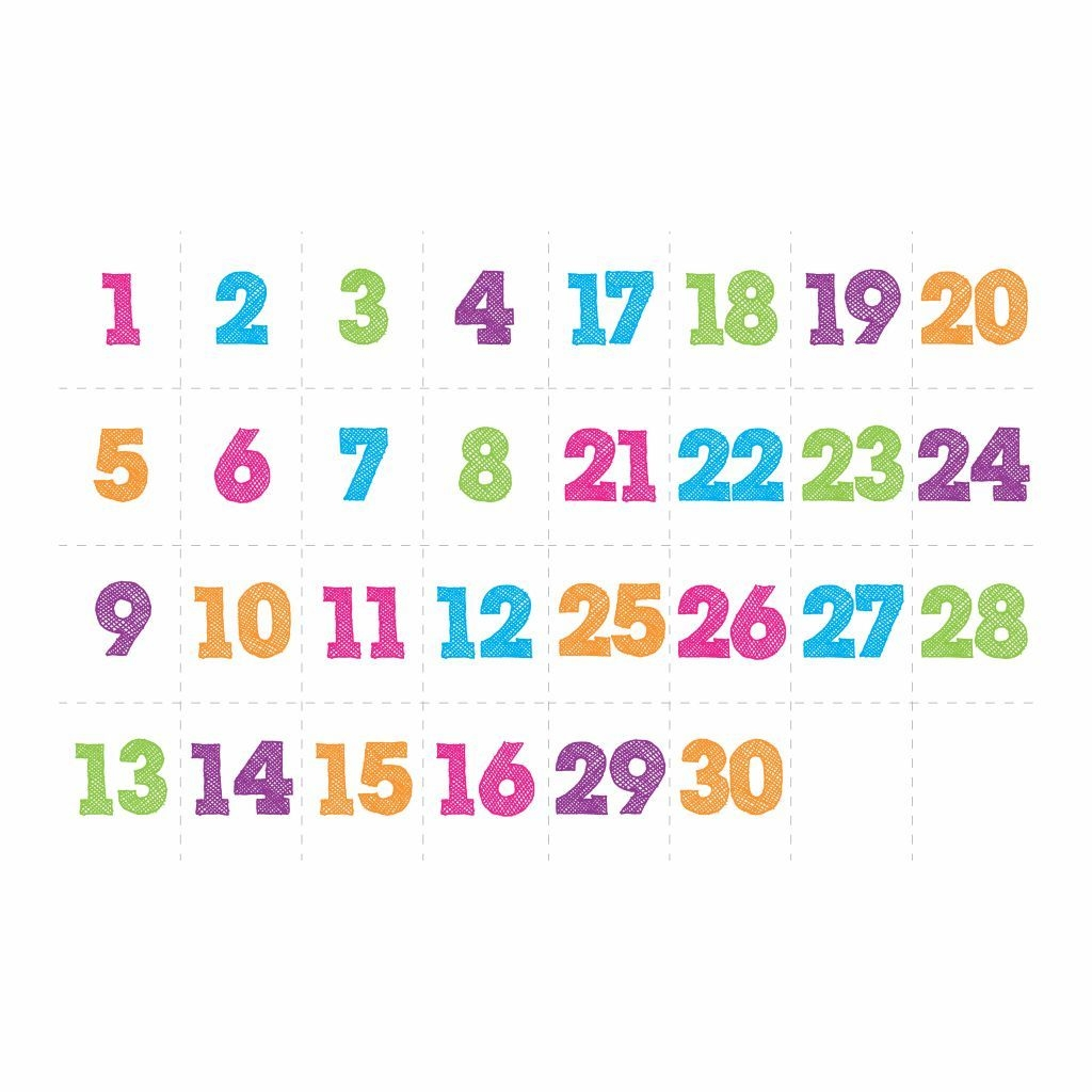 30 Days Countdown Calendar Printable Printablee