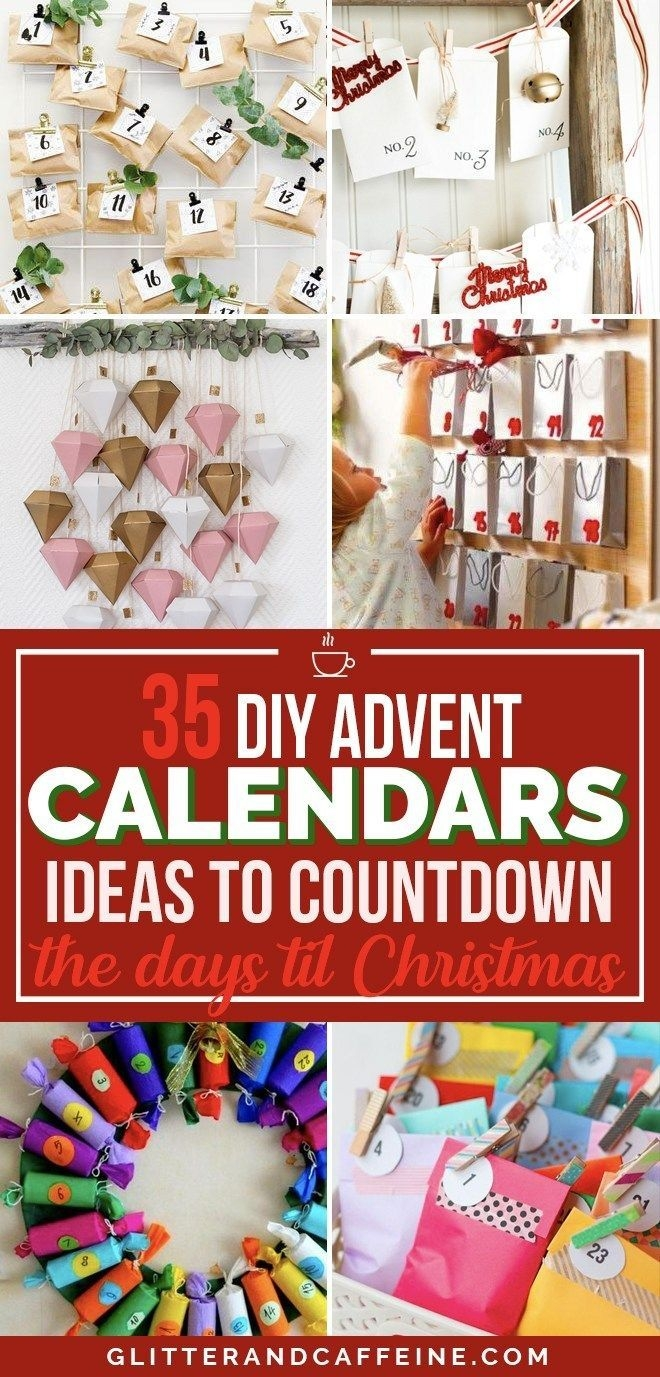 35 diy advent calendar ideas to countdown the days 'til