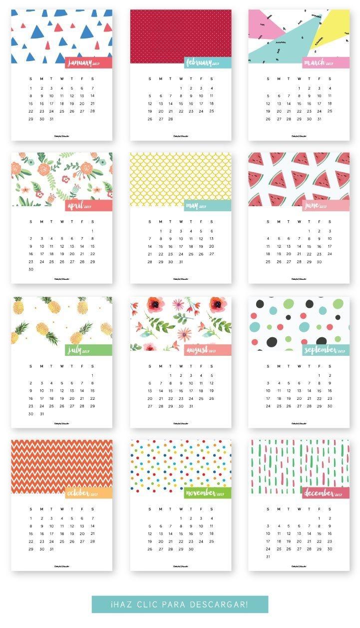 4×6 Monthly Printable Planner Calendar Di 2020 | Perencanaan