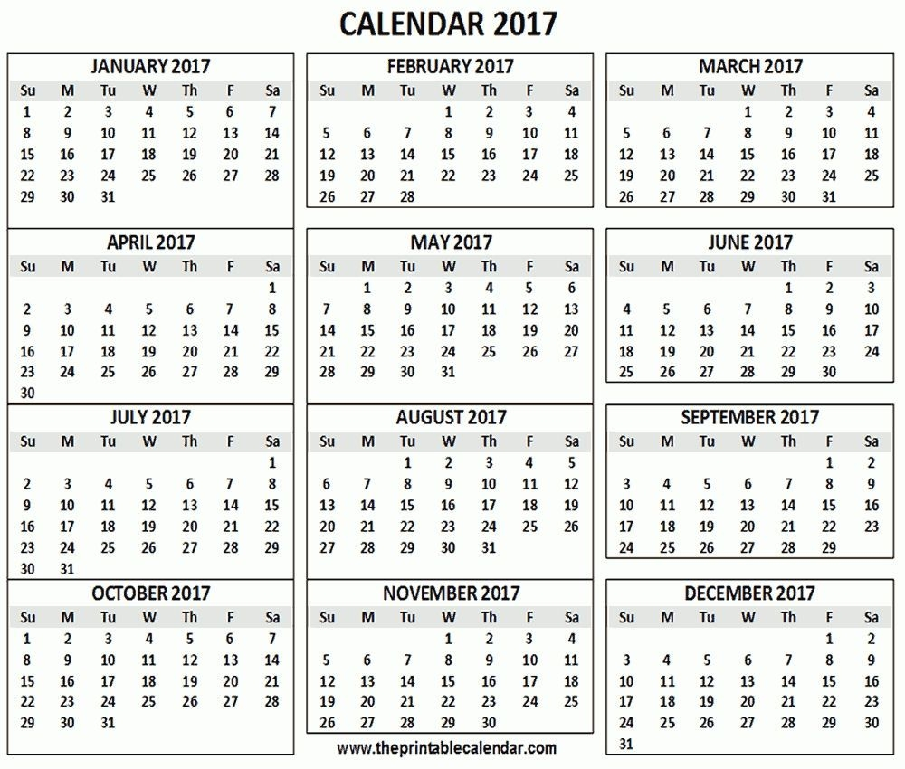 5 Month Calendar On One Page In 2020 | Calendar Printables