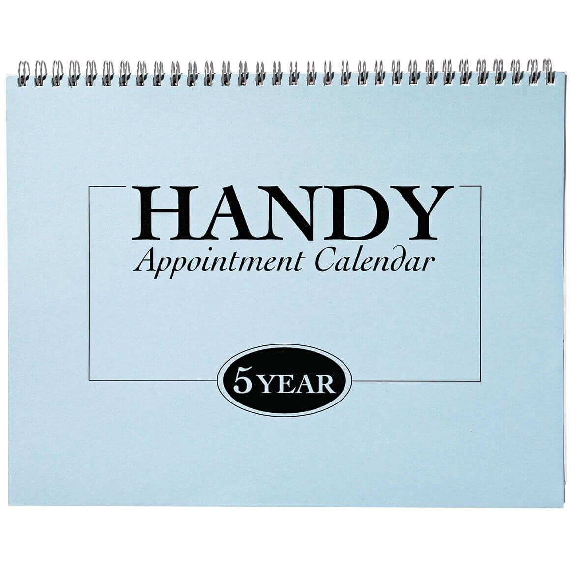 5 Yr Appointment Calendar 2021 2025
