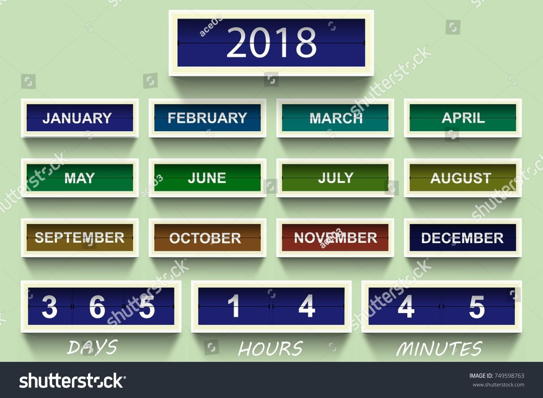 6 Month Countdown Calendar In 2020 | Countdown Calendar