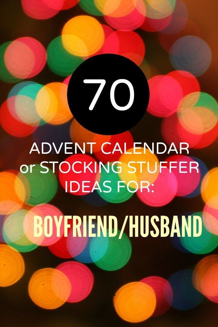 70 Advent Calendar Ideas For The Boyfriend Or Husband [great