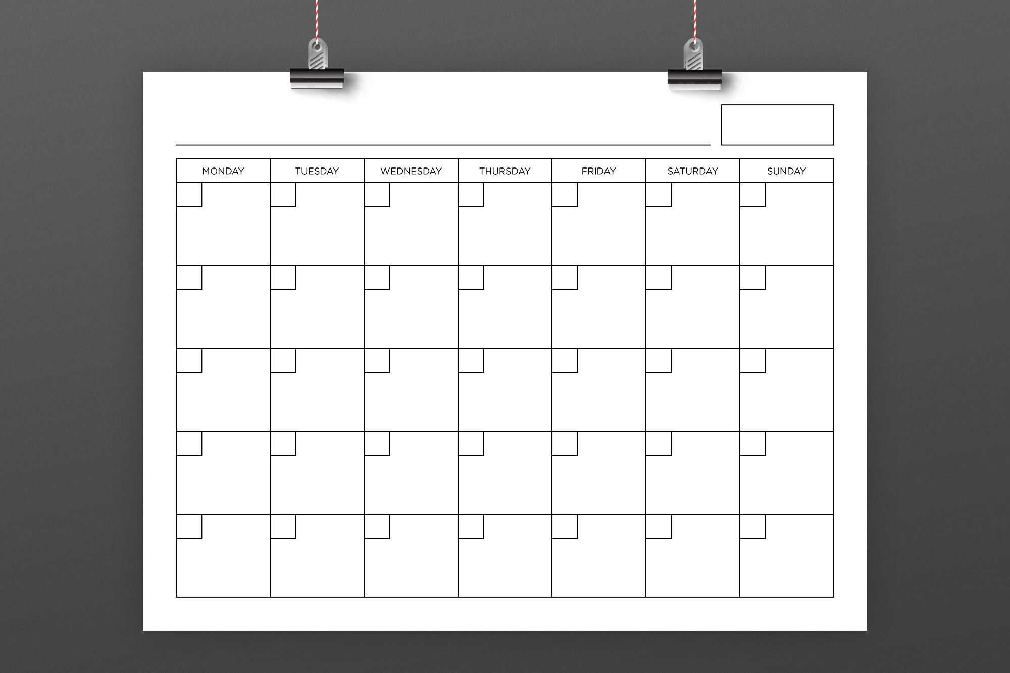 8 5 x 11 inch blank calendar page templaterunning with