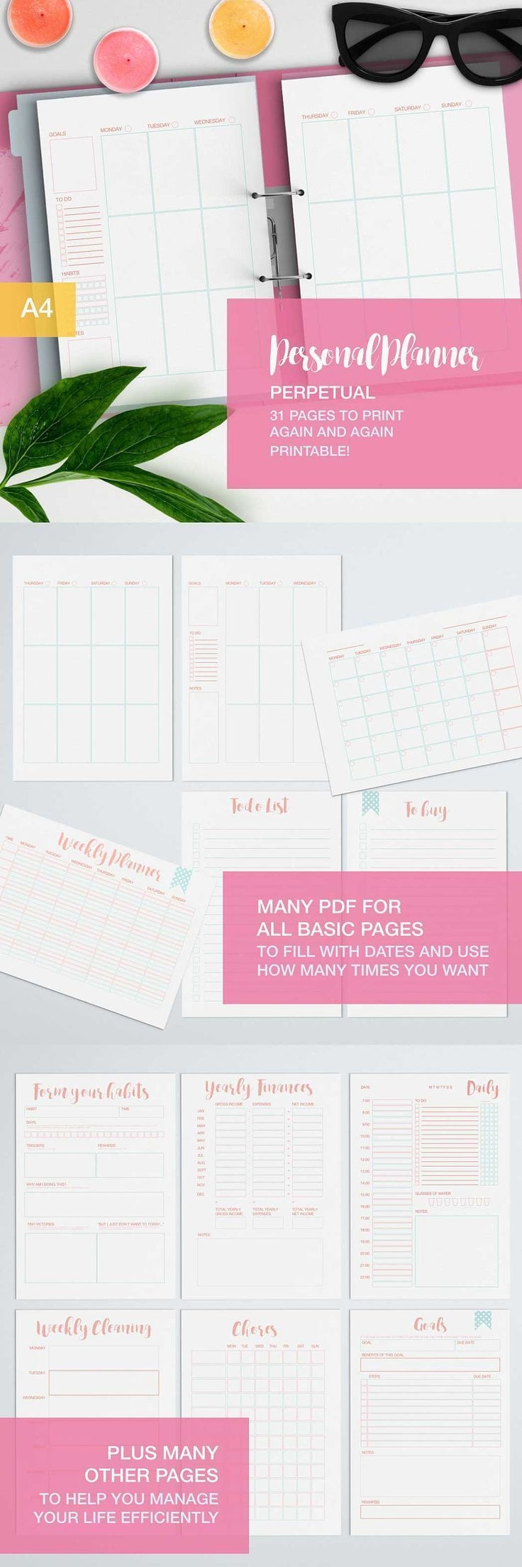 a new, completely reworked personal planner that now focuses