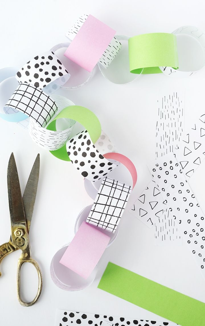 alice and loisdiy birthday countdown paper chain printable