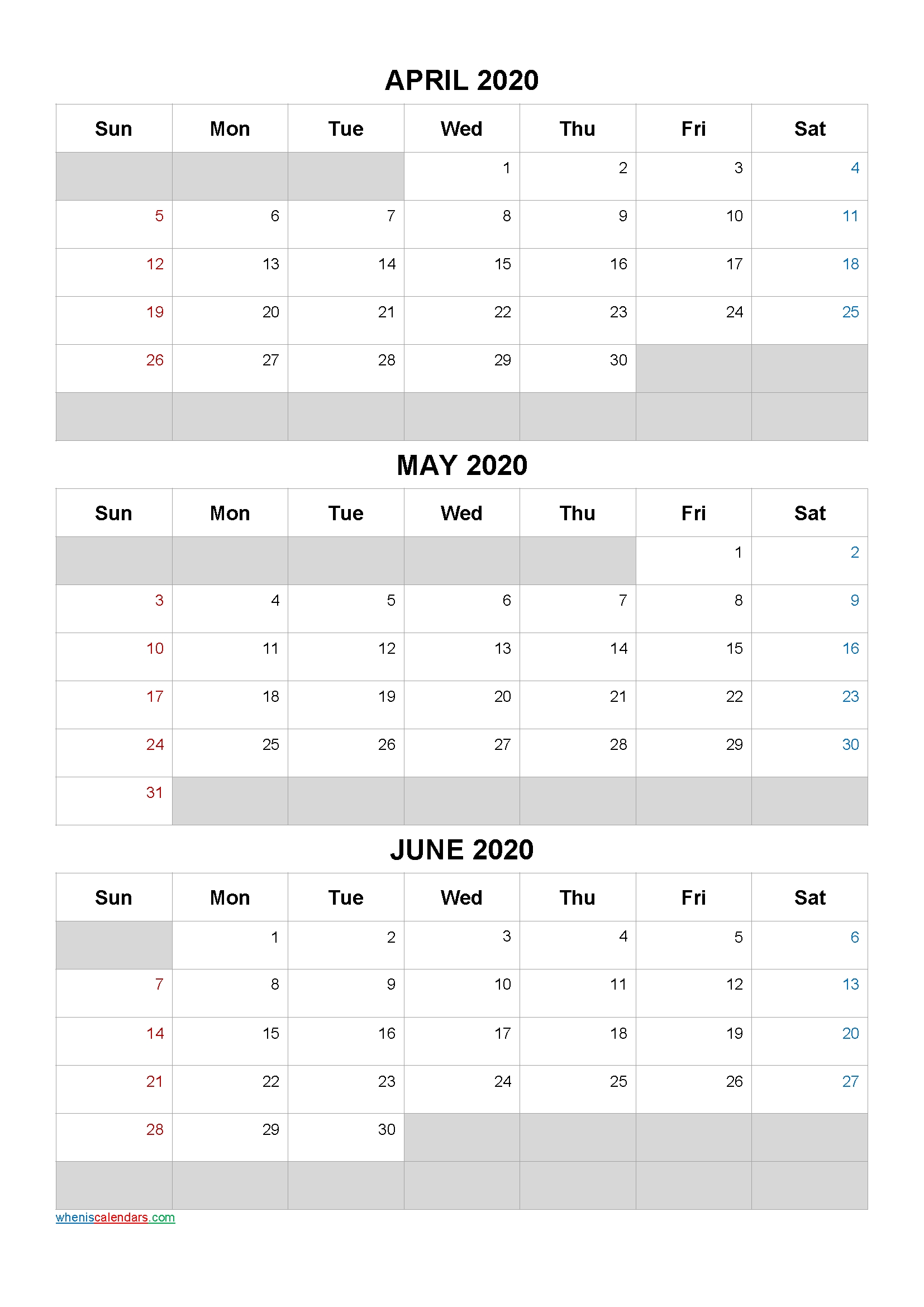 April May June 2021 Free Printable 3 Month Calendar 21ar5
