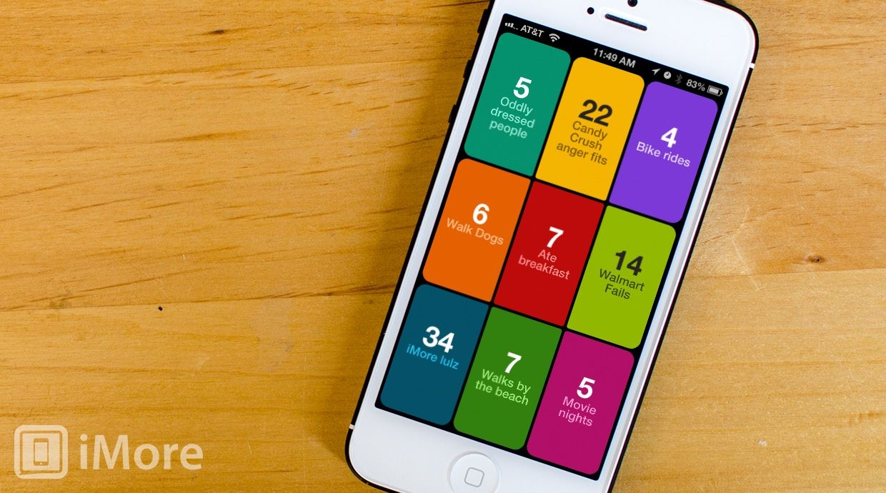 Bean A Counting App For Iphone Review: Keep Track Of
