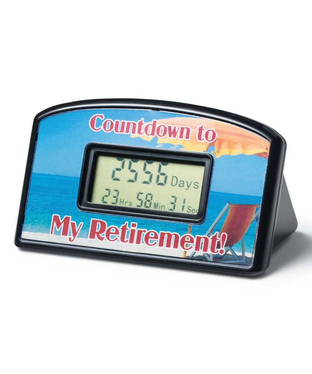 Bigmouth Inc Retirement Countdown Timer