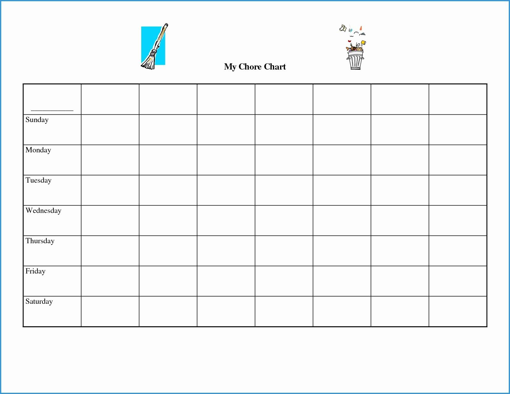 Blank Spreadsheet Excel To Print Printout Printable