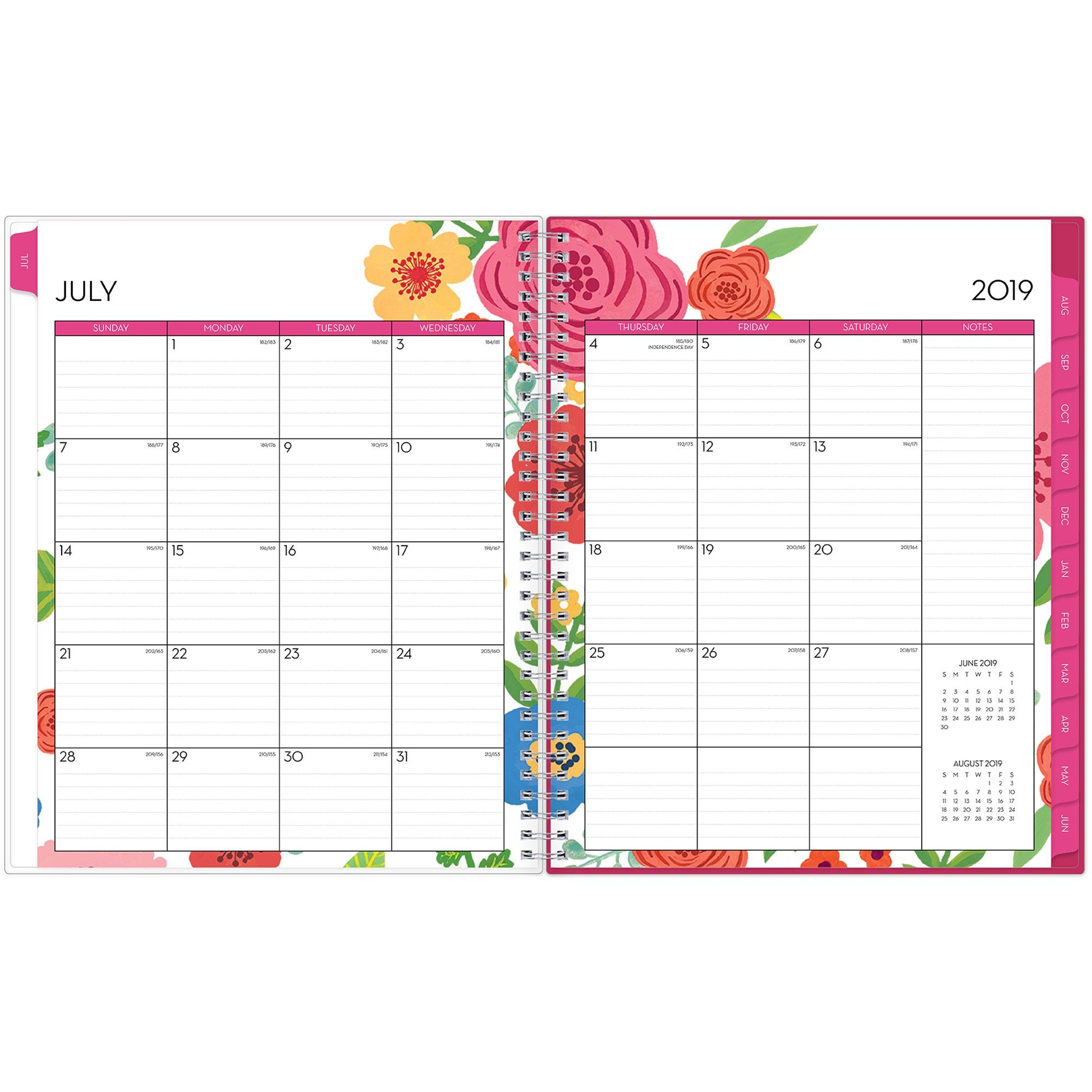 Blue Sky, Bls100149, Mahalo Cyo 8 5 X 11 Weekly/monthly Planner, 1 Each, Multicolor