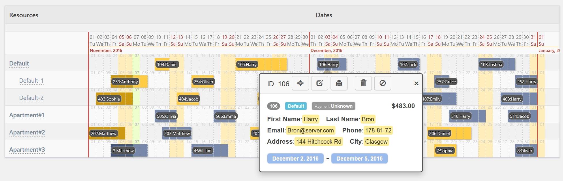 Booking Calendar WordPress Plugin, Receive Bookings Easily