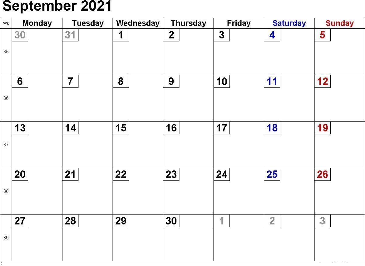 Calendar 2021 Printable Word Simple In 2020 | Printable