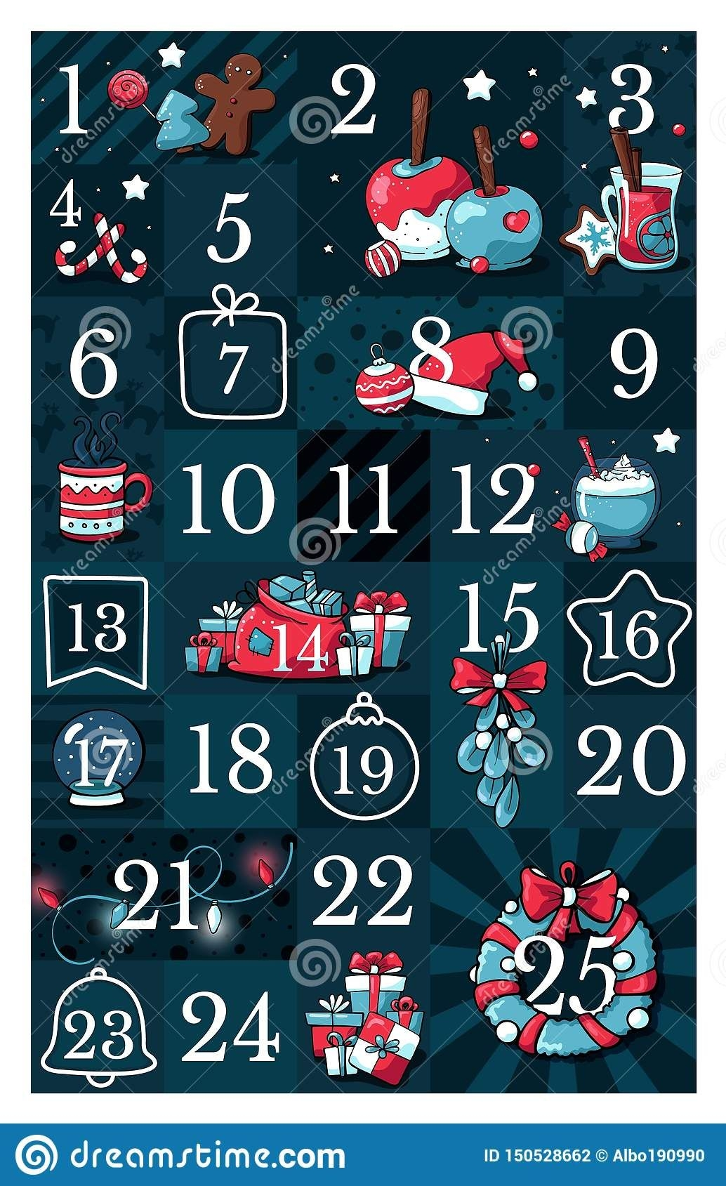 Calendar Countdown Stock Illustrations – 10,781 Calendar