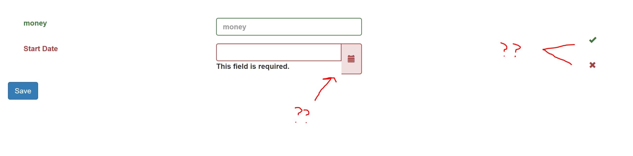 Calendar Icon Inside Textbox Bootstrap | Calendar For Planning