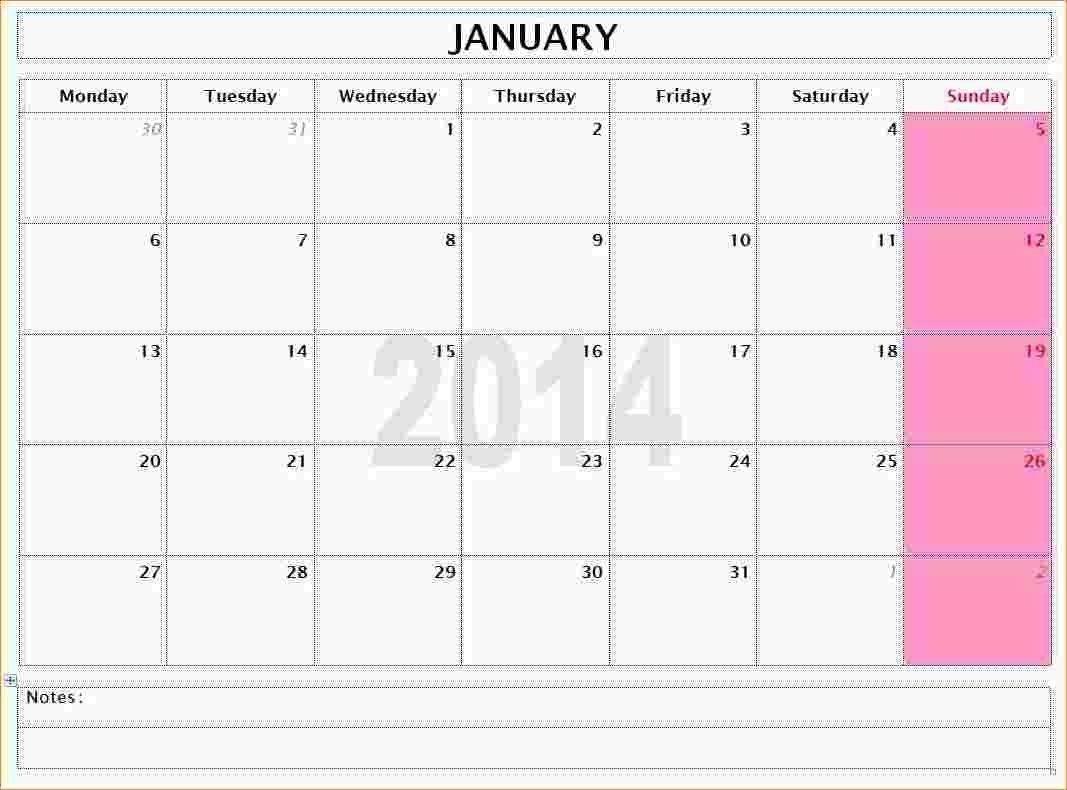 Calendar Template No Month In 2020 | Calendar Template