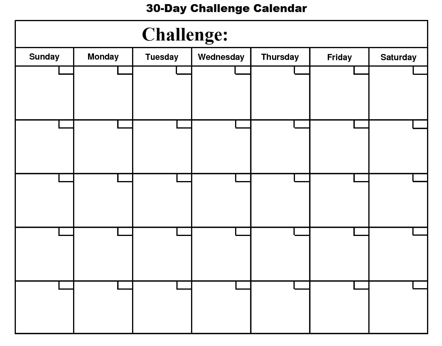 Changing Habits Calendar | Printable Blank Calendar, Blank