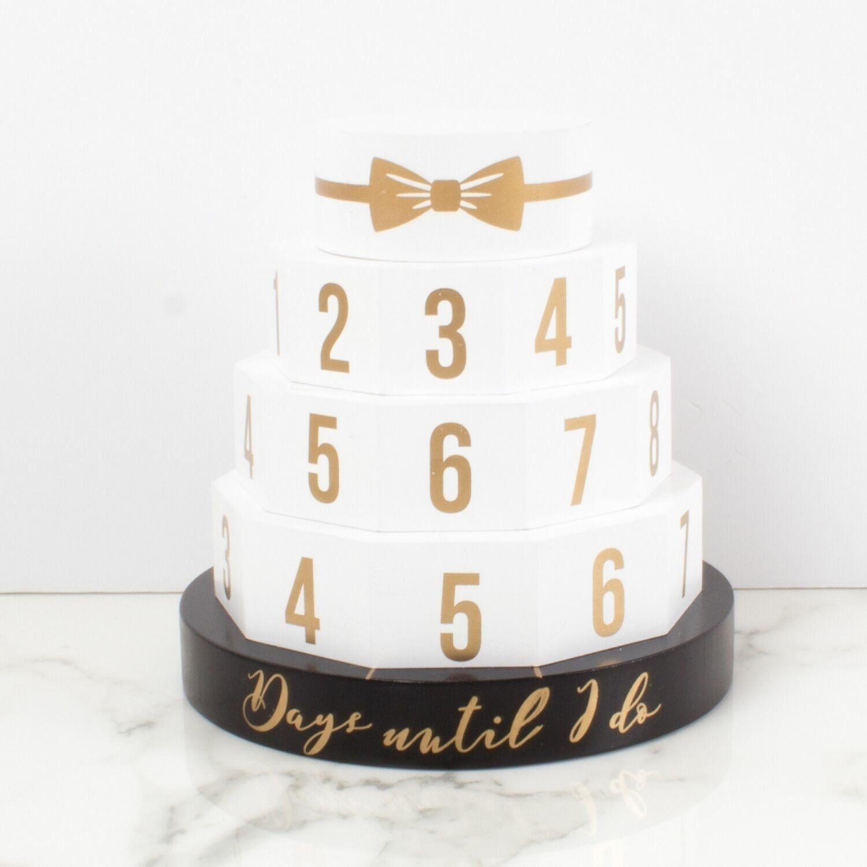 Countdown Calendar Cake Topper