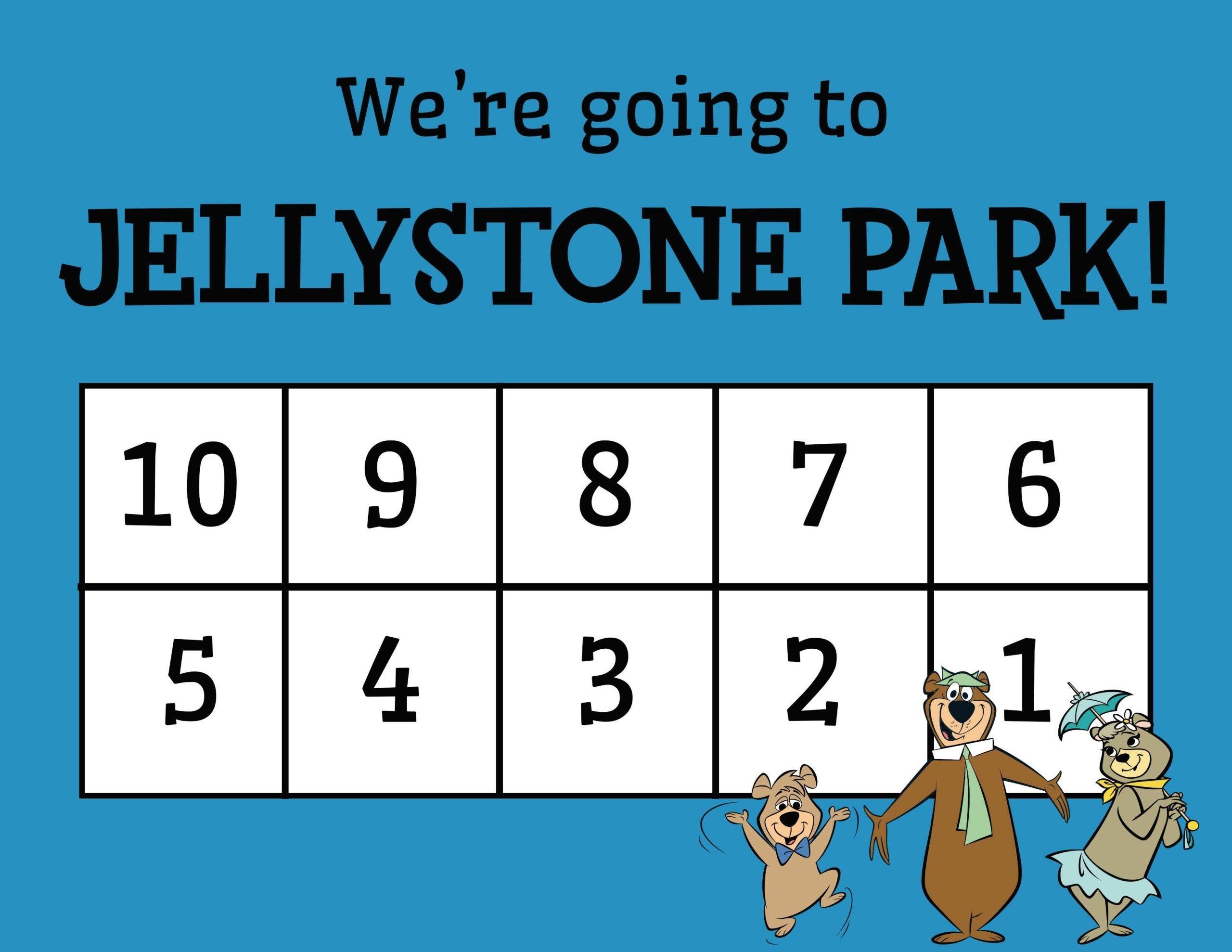 countdown calendar yogi bear's jellystone park