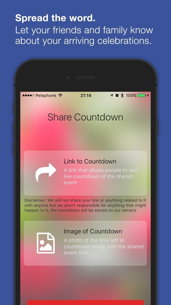 Countdown Timer: Count To Days For Iphone, Ipad