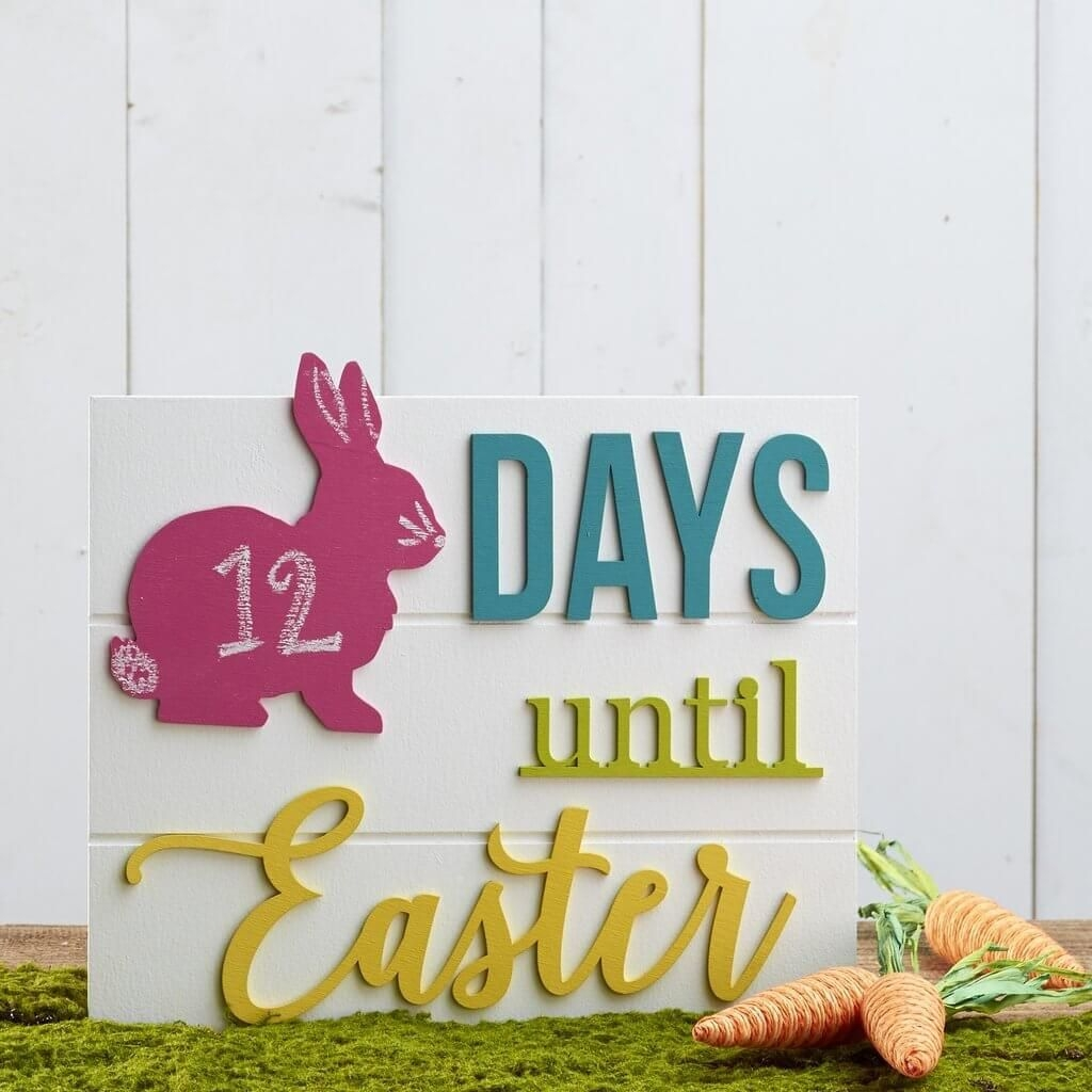 Countdown To Easter Calendar $29 Pinspiration
