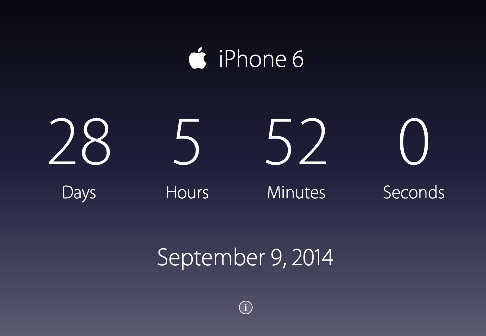 Countdown To The Iphone 6 Just 28 Days To Go 9to5mac