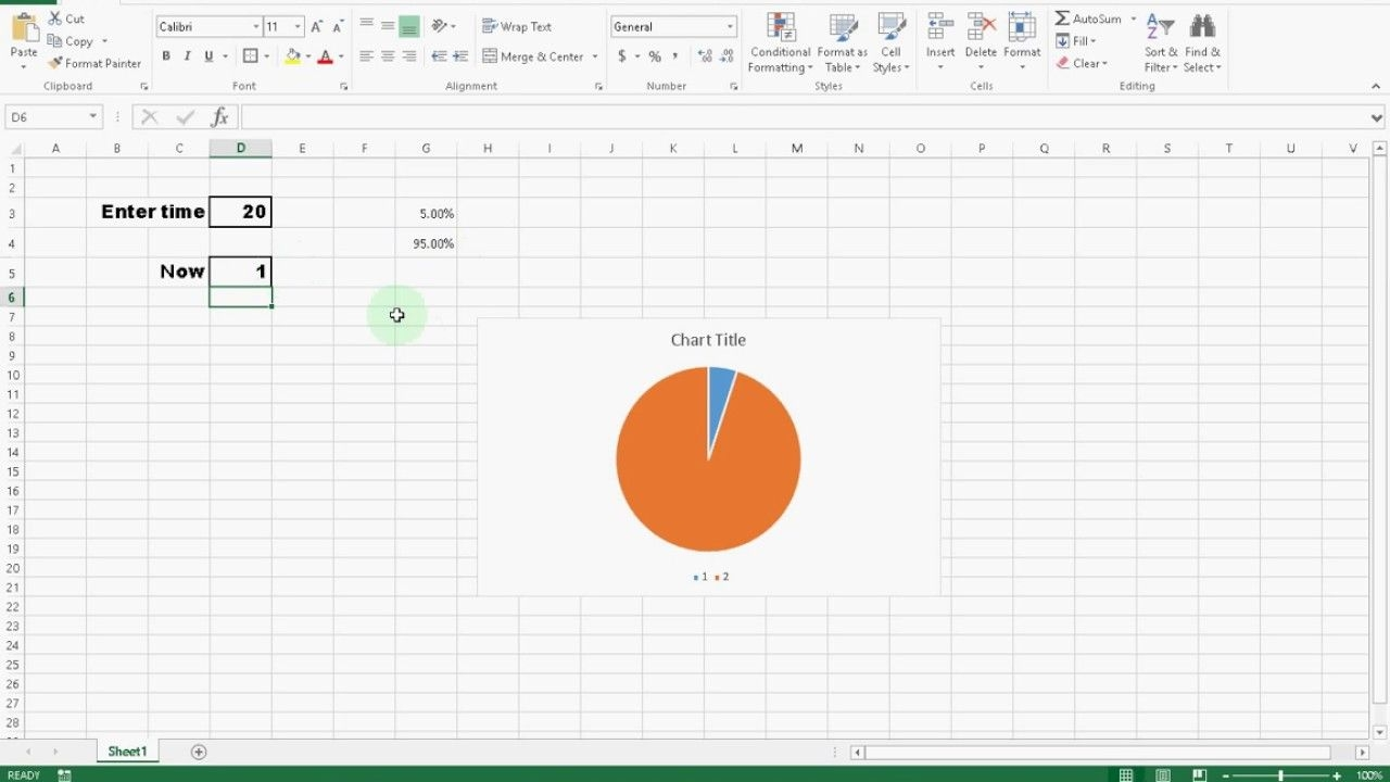 create a awesome countdown timer clock in microsoft excel #itfriend #diy