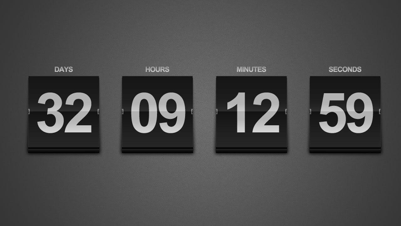 Create A Sleek Countdown Timer — Photoshop Tutorial | Adobe