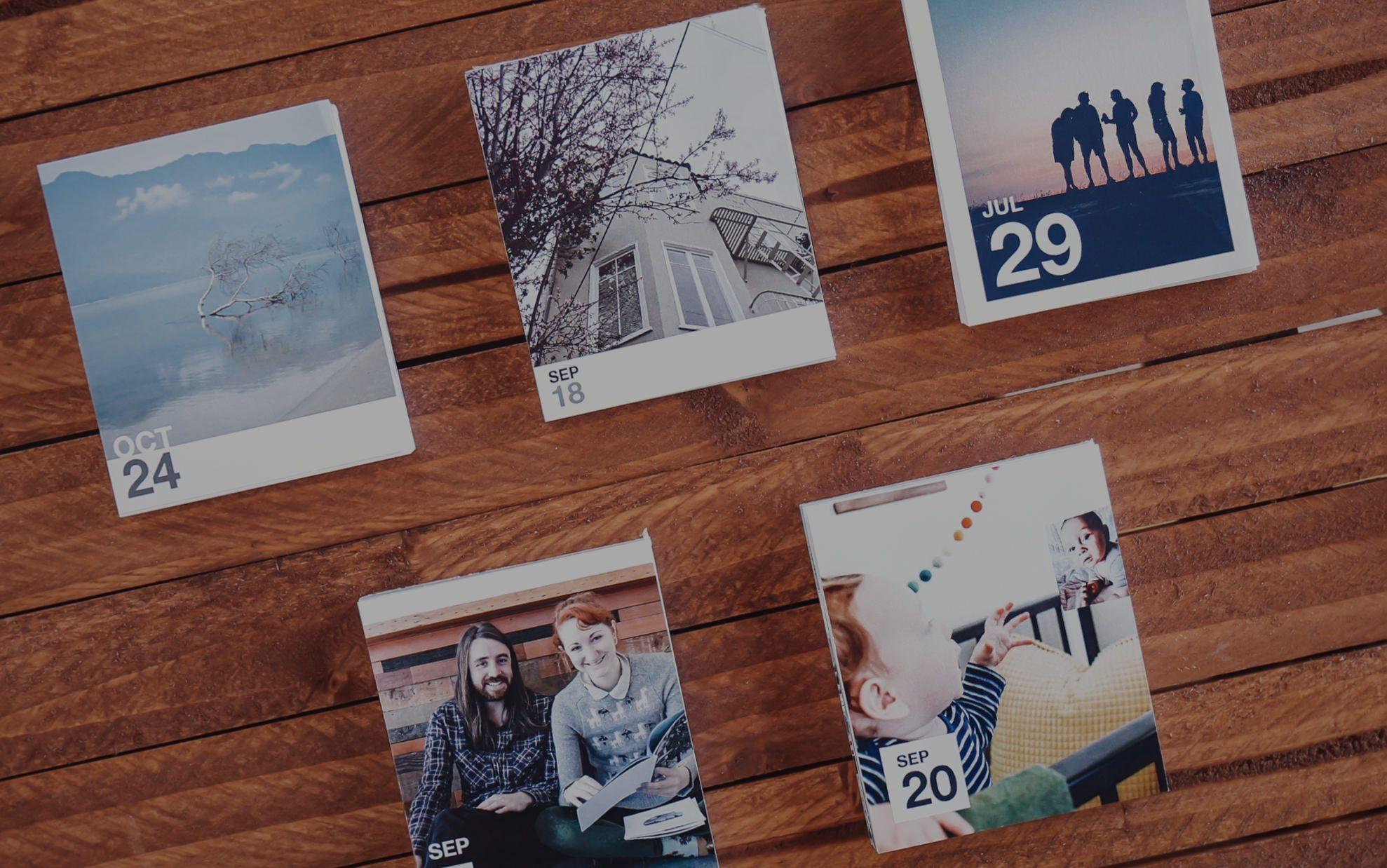 daily calendar | make custom tearaway photo calendars