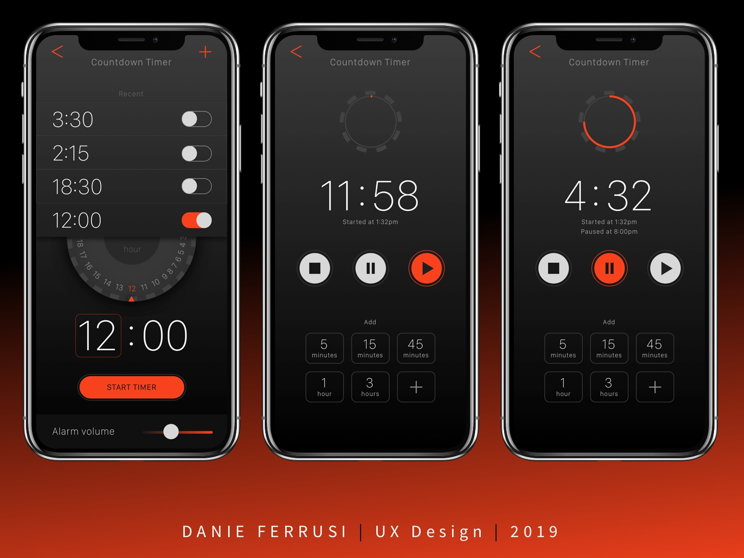 daily ui 014: countdown timerdanie ferrusi on dribbble
