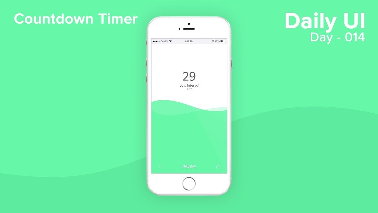 Daily Ui Day 014 Countdown Timer
