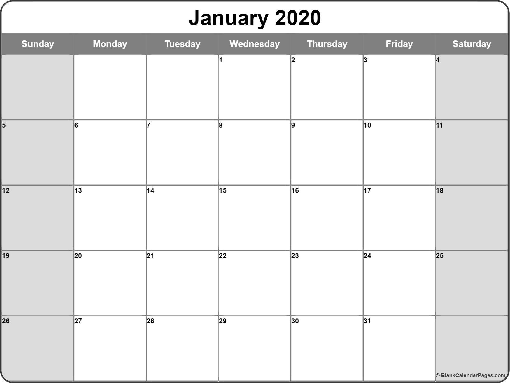 Dashing Printable Monthly Calendar With No Weekends In 2020
