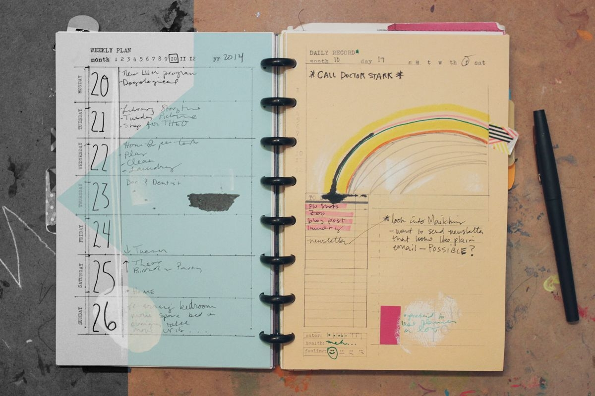 Day, Week, Month 5 5 X 8 5 Templates ⋆ Amanda Hawkins