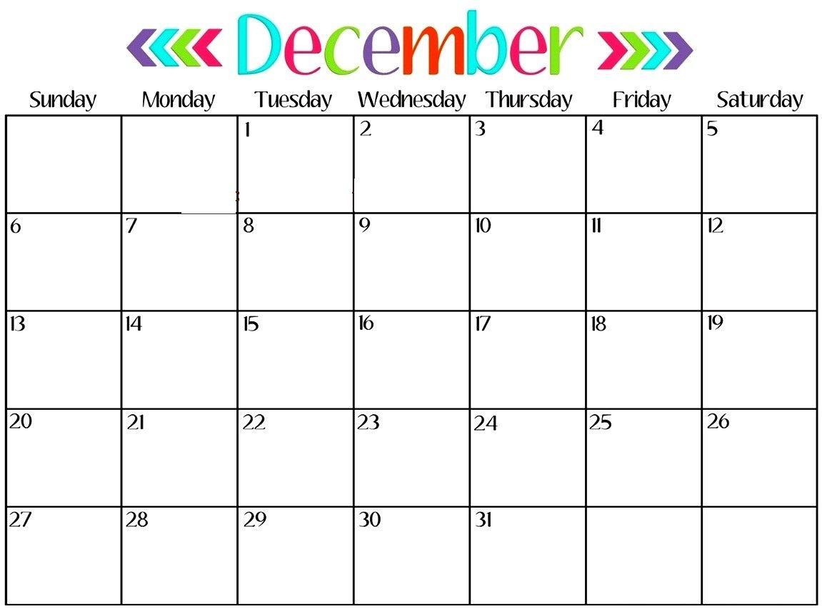 december 2018 calendar printable with holidays |december