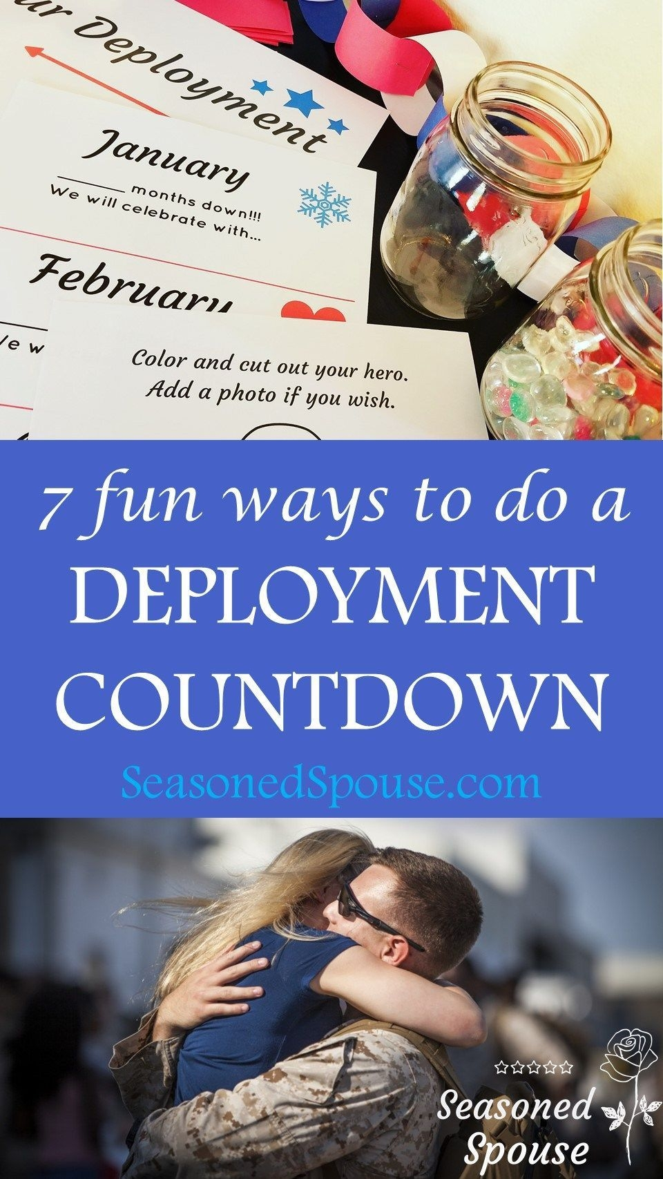 Deployment Countdown Displays Seasoned Spouse | Deployment