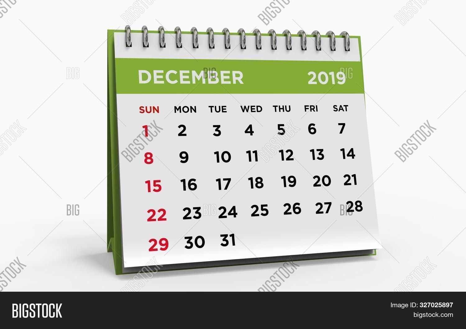 Desk Calendar Ring Image & Photo (free Trial) | Bigstock