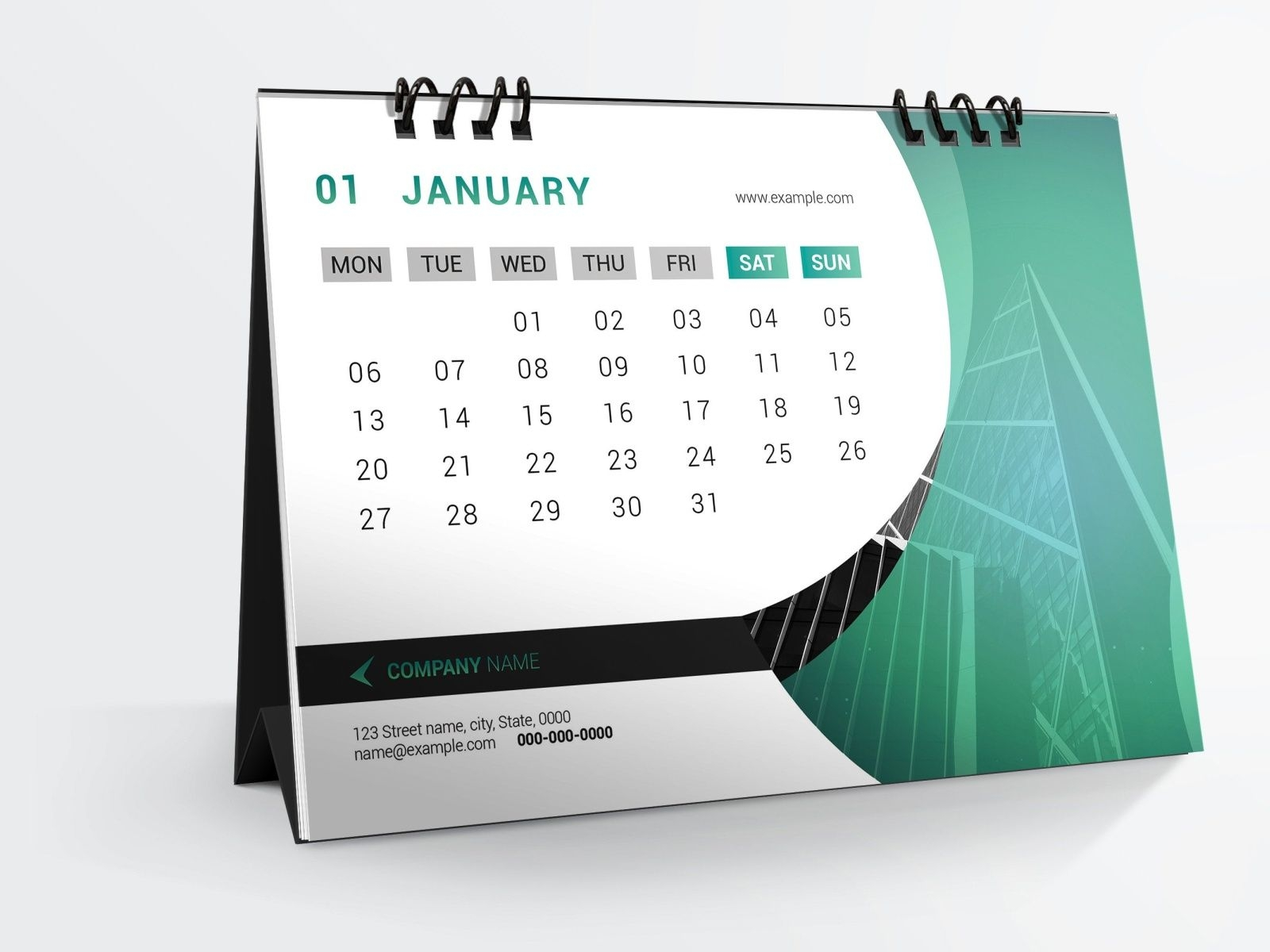 desk calendar template 2020mukhlasur rahman on dribbble