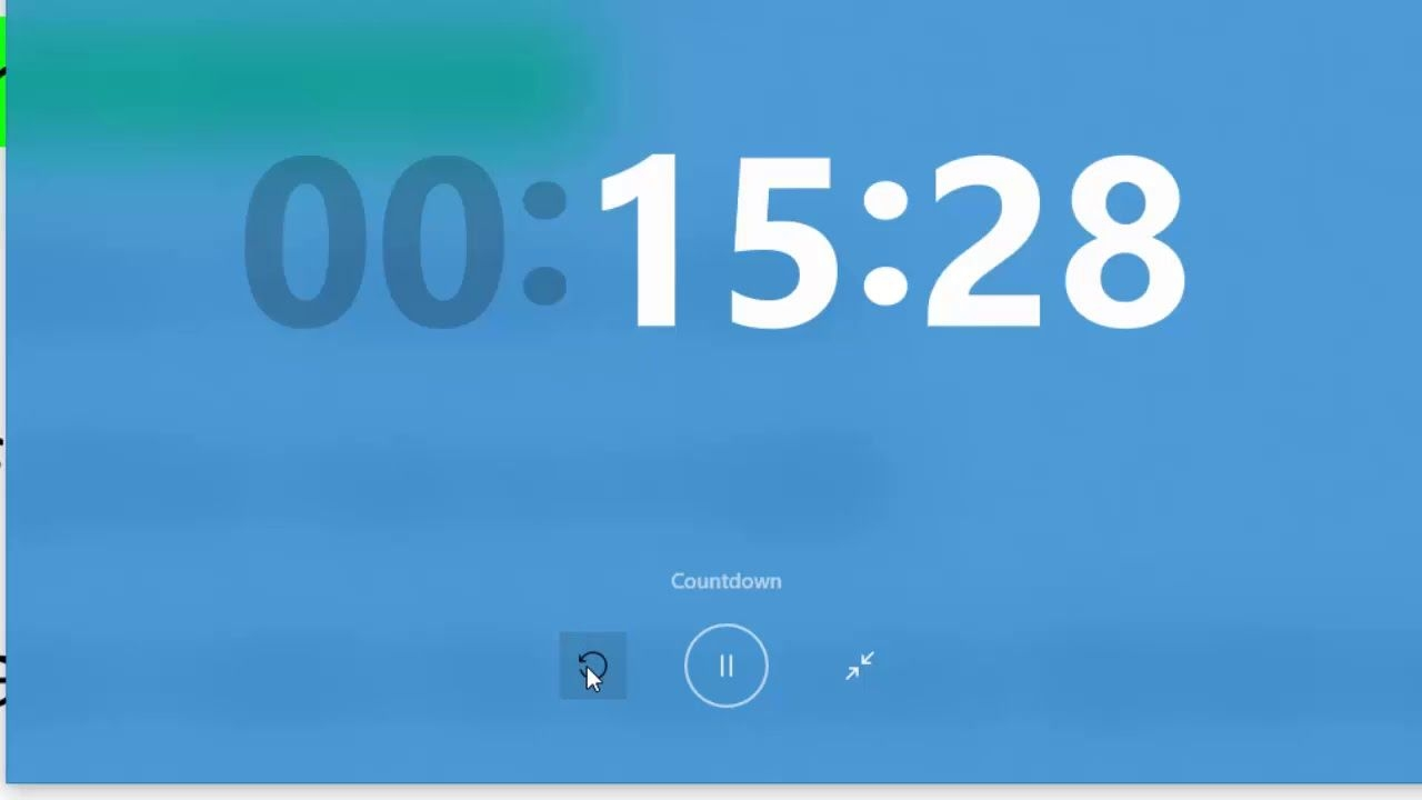Desktop Timer Windows 10 Amazing Feature How To Turn On