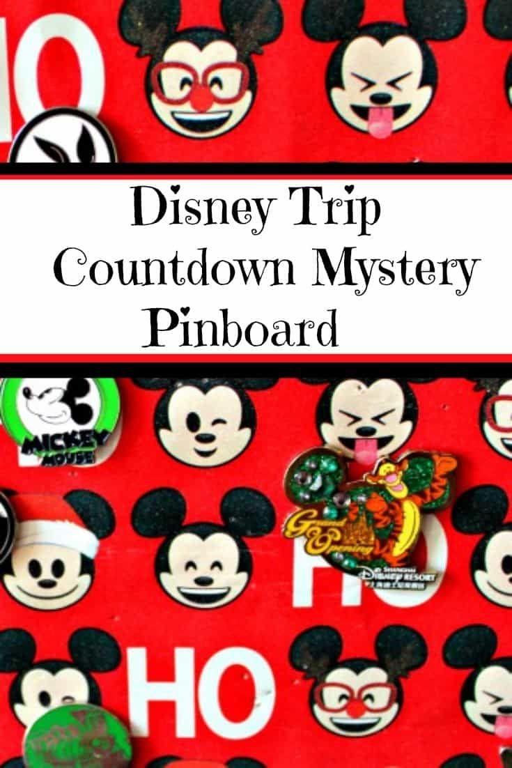Disney Pin Advent Calendar | Easy Diy Pinboard For Disney Pins
