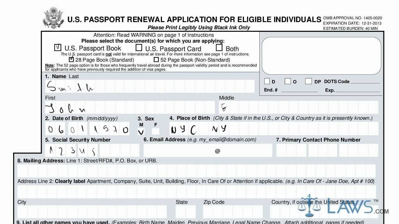 Download Ds 82 Form Learn How To Fill The Form Ds 82 U S